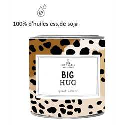 Bougie XL - Big Hug - JASMIN VANILLE 310gr VEGAN